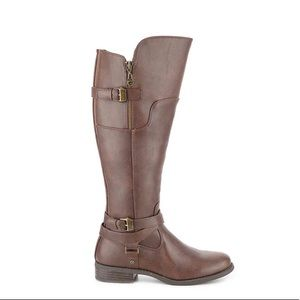 Guess Wide Calf Riding Boot